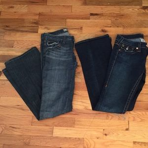 Size 26 Jean Pair Monarchy and True Religion